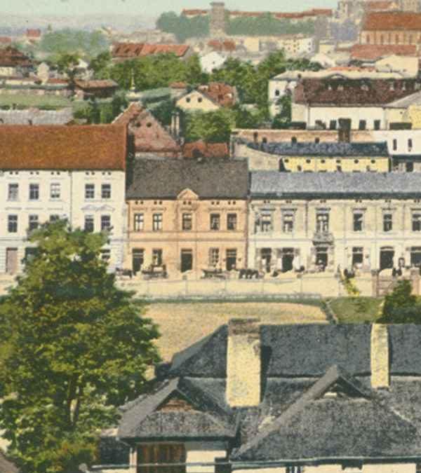 Widok na Podgórze i Kraków z Parku Bednarskiego